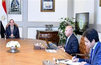 وجه بسرعة الانتهاء من خطة تطوير شبكة السكك الحديدية.. تفاصيل اجتماع الرئيس السيسي مع رئيس الوزراء ووزير النقل