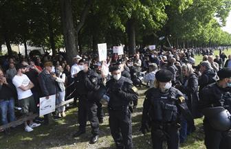 عشرات الآلاف من الأشخاص يتظاهرون في العاصمة الألمانية احتجاجا على شروط كورونا