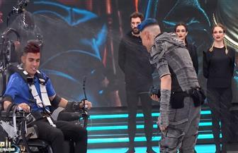 """أقسم بالله أقتلك.. أشرف بن شرقي يواجه الثعبان في """"رامز مجنون رسمي""""  صوروفيديو"""