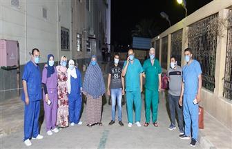 تعافي 10 مصابين بمستشفى العزل بتمي الأمديد والمدينة الجامعية بالمنصورة | صور