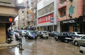 هطول أمطار على مدن ومراكز سوهاج| صور