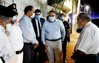 محافظ الشرقية يتفقد شوارع مدينة القرين.. ويوجه بنقل القمامة والمخلفات للمدفن الصحي| صور