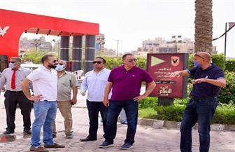 الخطيب يطمئن على أعمال تطوير منشآت فرع مدينة نصر| صور