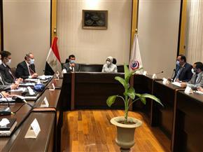 وزيرا الرياضة والصحة يؤكدان تسخير إمكانيات لمواجهة «كورونا»  صور