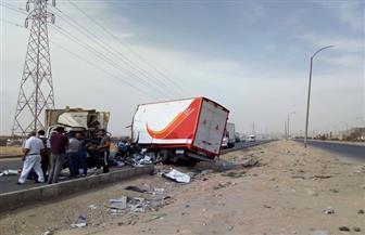 للسير عكس الاتجاه.. مصرع سائق وإصابة آخر في حادث تصادم بطريق الواحات بأكتوبر
