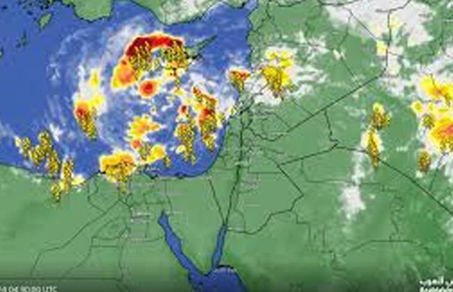 الأرصاد  تتابع حالة الطقس من الأقمار الصناعية -