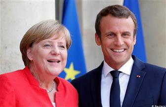 ميركل وماكرون يعتزمان طرح مبادرة مشتركة لمواجهة أزمة كورونا