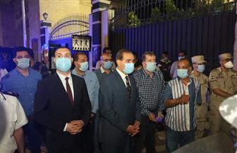 محافظ كفر الشيخ يستقبل 600 مصري من العالقين في السعودية قبل تسكينهم في المدينة الجامعية | صور
