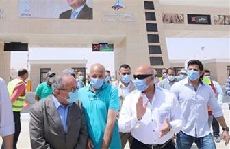 جولة لوزير النقل لتفقد مواقع تنفيذ المرحلة الأولى من تطوير طريق القاهرة/ أسوان الصحراوي الغربي