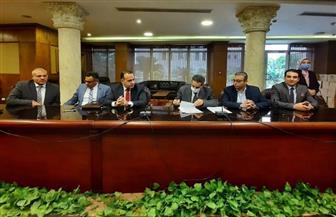 هيئة قضايا الدولة توقع عقدا مع محافظة الغربية | صور