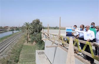 وزير النقل: محور سمالوط  بطـول 24 كم يشتمل على 47 عملا صناعيا |صور