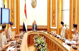 الرئيس السيسي يوجه بالاستمرار في التحلي بأقصى درجات الجاهزية والاستعداد القتالي لحماية أمن مصر