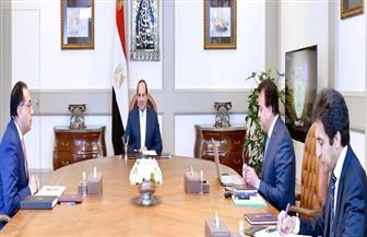 تفاصيل اجتماع الرئيس السيسي مع رئيس الوزراء ووزير التعليم العالي