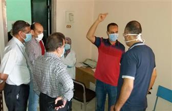 """""""جميعة"""" يتفقد أعمال تطوير مستشفى الصدر بجزيرة شندويل في سوهاج"""