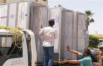 توفير ثلاث بوابات للتعقيم بمبنى ديوان عام محافظة شمال سيناء |  صور