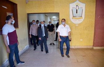 محافظ بورسعيد: يوجه بتجهيز المدينة الجامعية ببورفؤاد لاستقبال العالقين العائدين من الخارج | صور