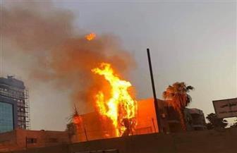 السيطرة على حريق بمحيط مستشفى حميات إمبابة | فيديو
