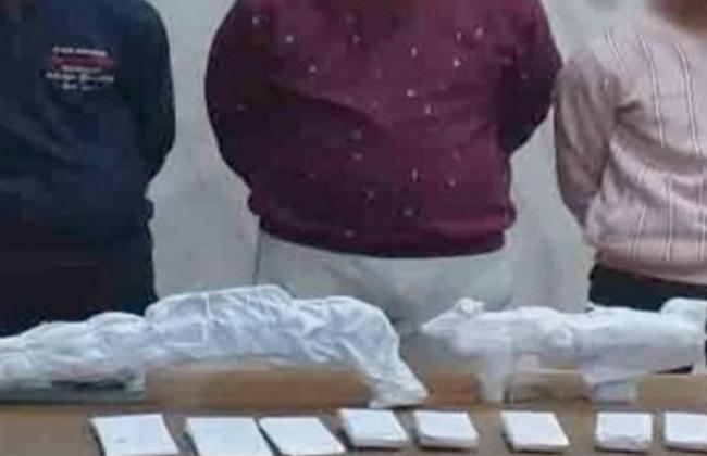 ضبط  أشخاص لحيازة مواد مخدرة بقصد الاتجار بالشرقية