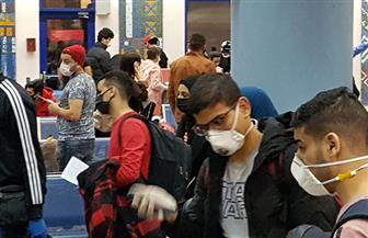 مطار مرسى علم يستقبل 320 مواطنا من المصريين العالقين في موسكو | صور