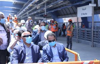 في جولته بالخط الثالث للمترو.. وزير النقل: استكمال اختبارات التشغيل فور وصول المعدات والخبراء | صور