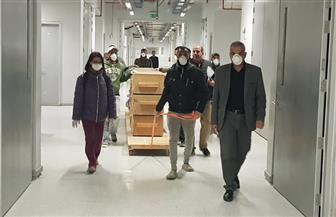 المتحف المصري الكبير يستقبل 42 قطعة خشبية من مركب خوفو الثانية | صور