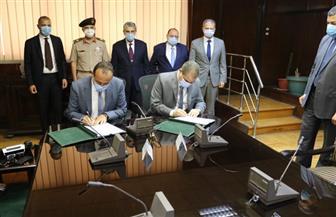 وزير الكهرباء يوقع عقد تنفيذ الشبكة الداخلية شرق العوينات بتكلفة 500 مليون جنيه