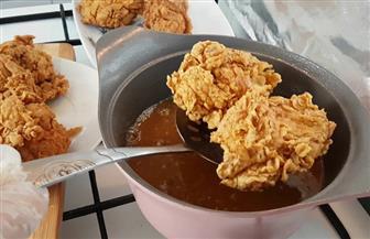 طريقة عمل قطع الدجاج المقلية بقرمشة المطاعم الشهيرة