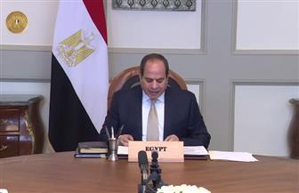 صفحة المتحدث الرئاسي تنشر فيديو مشاركة الرئيس السيسي في اجتماع مجموعة الاتصال الإفريقية حول ليبيا| فيديو