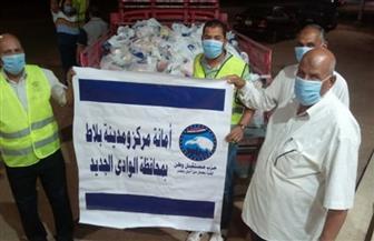 """""""مستقبل وطن"""" يوزع 2500 شنطة مواد غذائية على الأرامل والأيتام"""