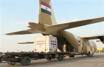 وصول طائرة المساعدات الطبية المصرية لمواجهة أزمة فيروس كورونا إلى جنوب السودان | فيديو