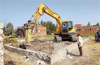 محافظ كفرالشيخ: شن عدة حملات لإزالة التعديات ومخالفات البناء بالمراكز والمدن | صور