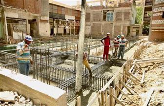 جمال نور الدين يتفقد الأعمال الإنشائية لمبنى الدرجات بمستشفى كفرالشيخ العام | صور