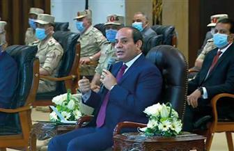 الرئيس السيسي: حجم كثافة الحركة بالإسكندرية كبير.. ونجهز المحافظة لمشروعات عديدة