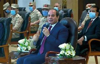 الرئيس السيسي: المحافظ له سلطات الرئيس في وقف إصدار تراخيص البناء للحد من العشوائيات