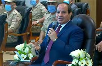 الرئيس السيسي: التقاضي بين أجهزة الدولة آخر إجراء لابد أن نصل إليه