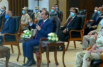 الرئيس السيسي يكلف وزير النقل بالانتهاء من محور التعمير خلال عام