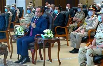 الرئيس السيسي: هناك أموال باهظة تضيع بسبب مخالفات البناء