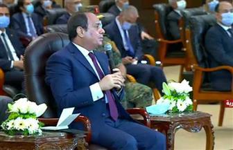 الرئيس السيسي: مسئولية الدولة تنتهي عند التخطيط الجديد للمدن