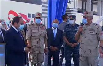 الرئيس السيسي يطلع على أعمال تطوير ورفع كفاءة بحيرة مريوط