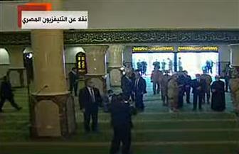 """الرئيس السيسي يتفقد مسجد """"الحق المبين"""" بمشروع بشائر الخير 3 بالإسكندرية"""