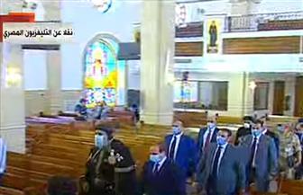 الرئيس السيسي يتفقد كنيسة السيدة العذراء بمشروع بشائر الخير 3 بالإسكندرية