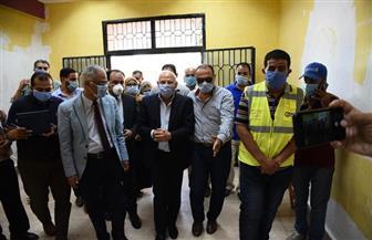محافظ بورسعيد يتفقد تجهيز المدينة الجامعية لاستقبال العائدين من الخارج | صور