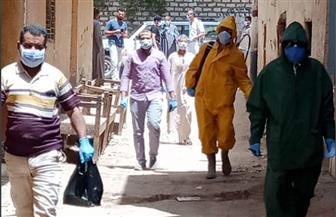 فريق طبي لحصر وتقص المخالطين بعد تسجيل إصابة بكورونا في دار السلام بسوهاج | صور