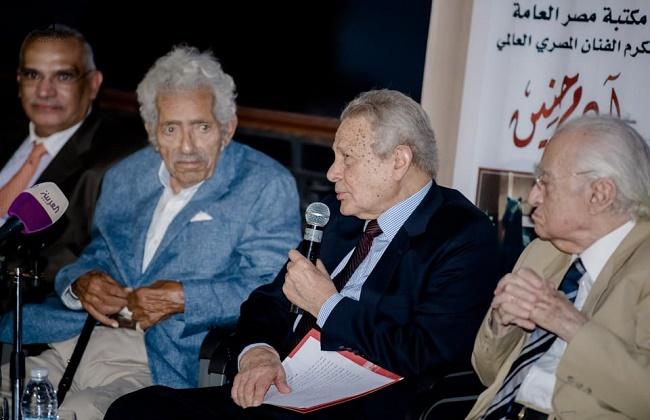 الريدي ناعيا آدم حنين فقدنا فنانا مصريا عالميا ترك خلفه تراثا هائلا من الأعمال الفنية | صور