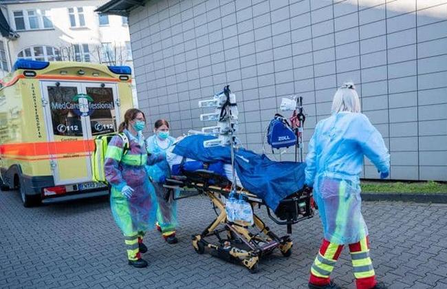 معهد روبرت كوخ  إصابة جديدة بفيروس كورونا في ألمانيا