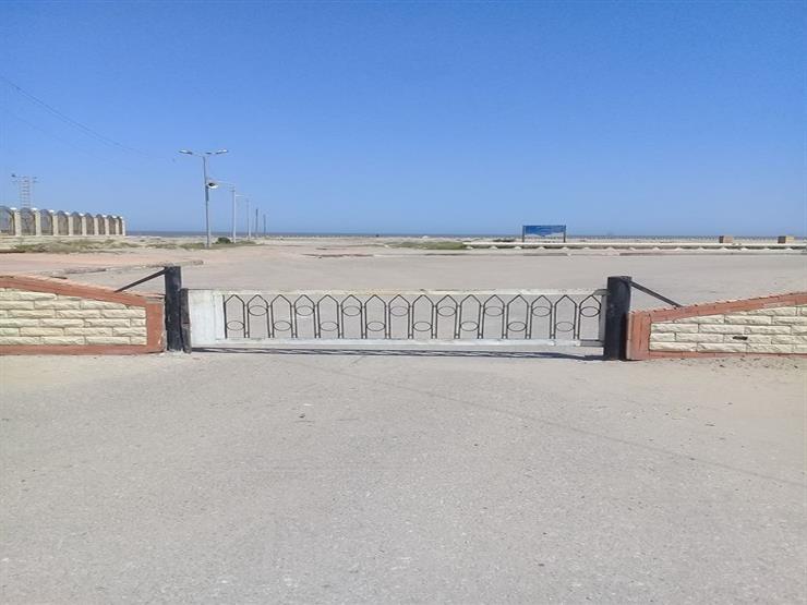 تكثيف الإجراءات الاحترازية وغلق منافذ شواطئ مصيف بلطيم ومطوبس في عيد الفطر| صور