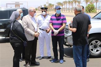 جولة ميدانية لرئيس الوزراء لتفقد بعض المشروعات بمدينة شرم الشيخ| صور