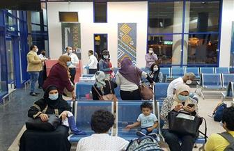 وصول 165 من المصريين العالقين في سلطنة عمان إلى مطار مرسى علم | صور