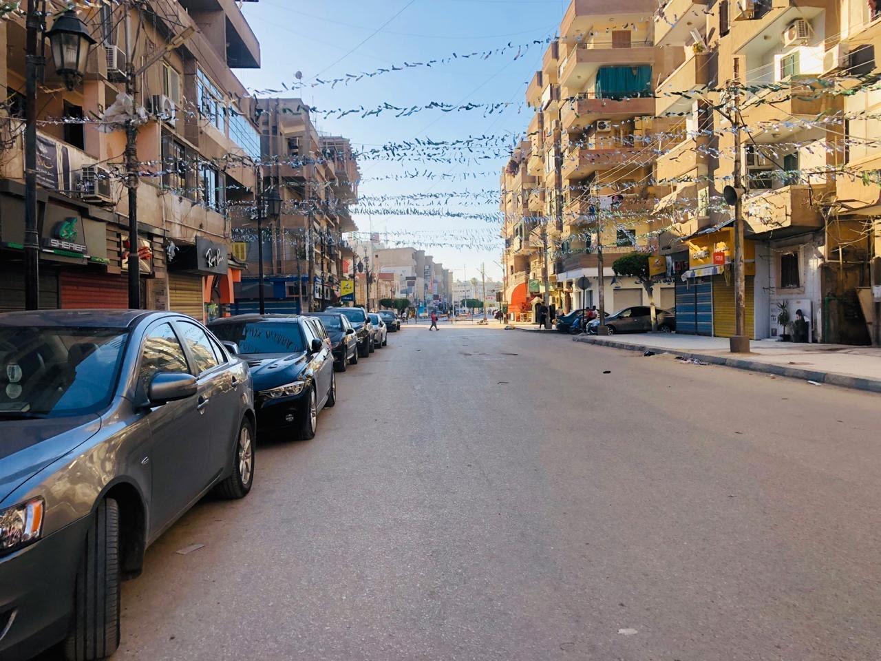 محافظ كفرالشيخ يتابع حظر التجوال في أول أيام عيد الفطر المبارك