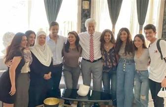 """آخر صورة لرجاء الجداوي مع أبطال """"لعبة النسيان"""" بعد أنباء إصابتها بكورونا"""
